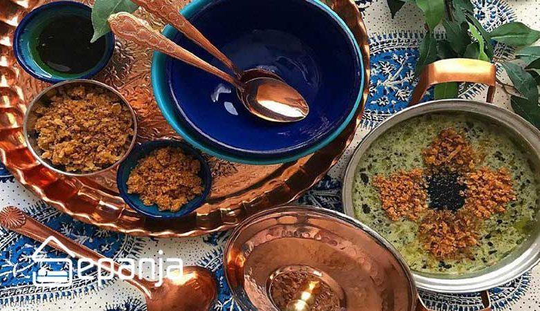 تعدادی از غذاهای محلی تهران
