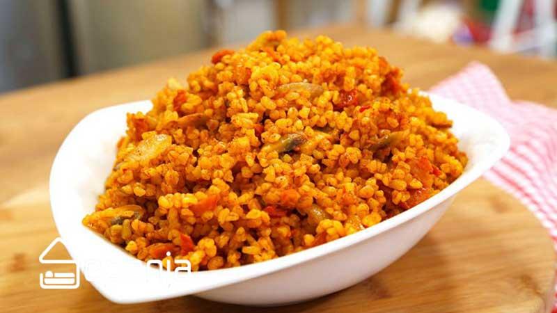 دمی بلغور جو از بهترین غذاهای محلی تهران