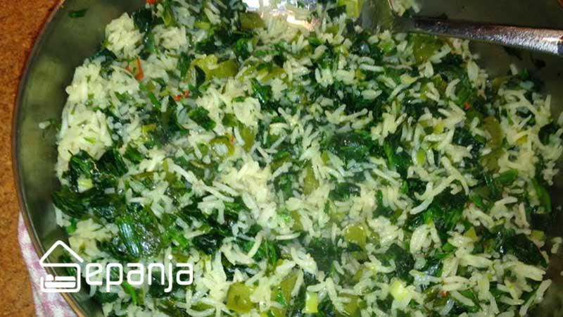 والک پلو یکی از خوشمزه ترین غذاهای محلی تهران