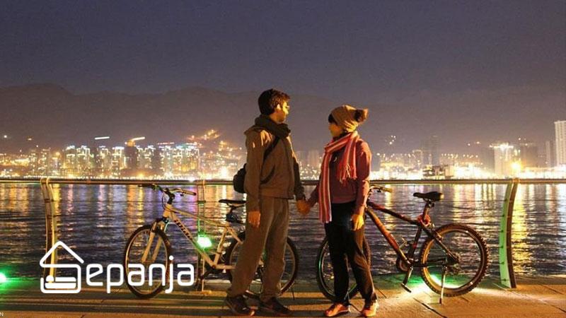 دوچرخه سواری در بام لند تهران