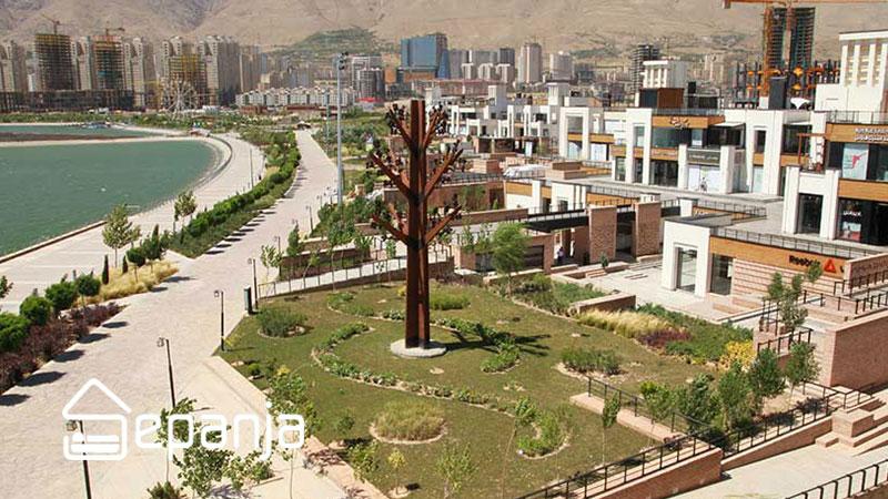 دیدنی های بام لند تهران