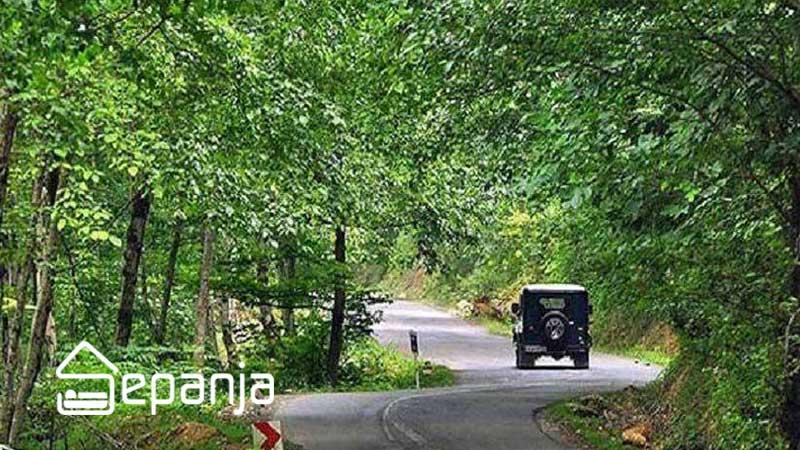 پارک جنگلی ریزمندان از جاهای دیدنی ماسال