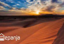 تصویر کویر مصر پر طرفدارترین جاذبه گردشگری ایران
