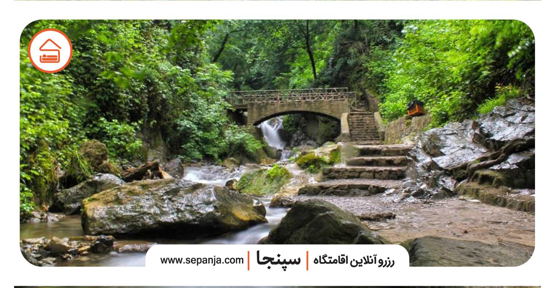 آبشارهای زیاد کبودوال در استان گلستان