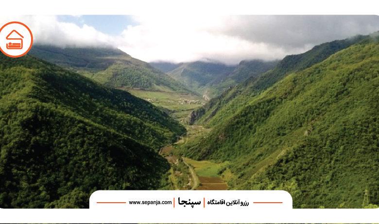 طبیعت سرسبز علی آباد کتول