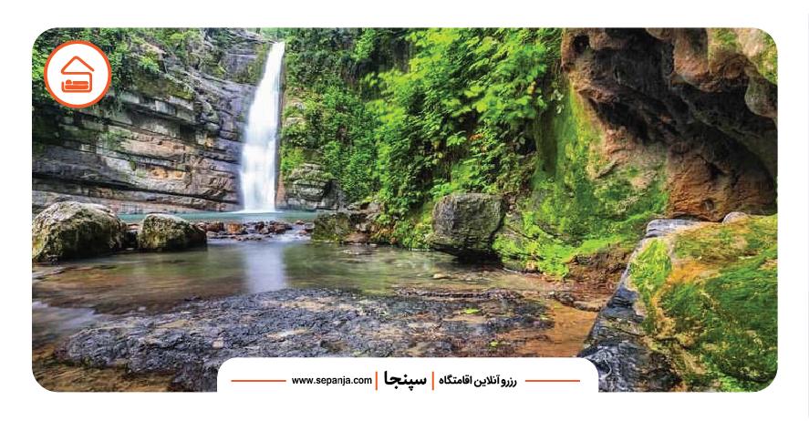 آبشارهای علی آباد کتول