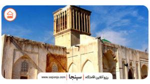مسجد جامع از جاهای دیدنی بوشهر