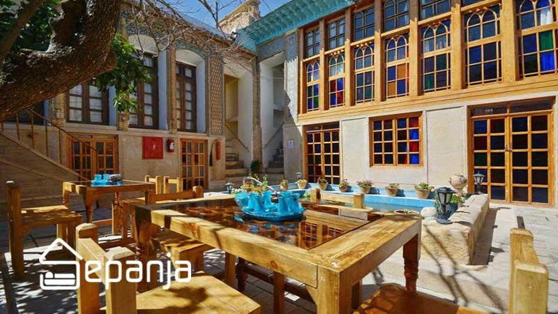 اقامتگاه سنتی در شهر شیراز