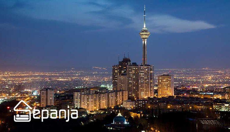 نمایی از جاهای دیدنی تهران