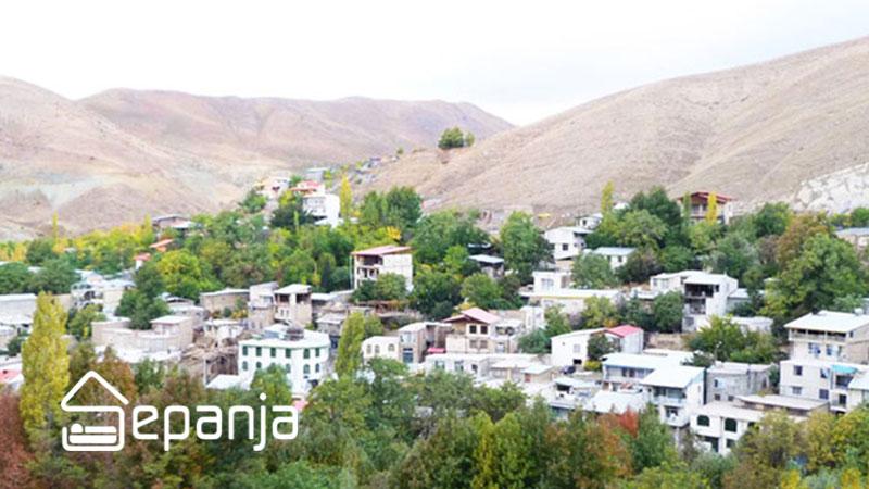 طبیعت روستای کردان یکی از جاهای دیدنی استان تهران