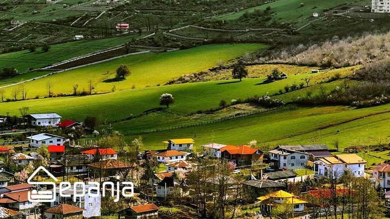 طبیعت شهر کلاردشت در شمال کشور