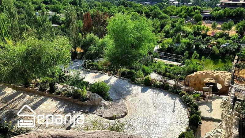 طبیعت سبز روستای کردان در استان تهران