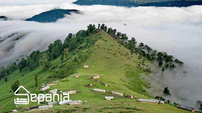 طبیعت سرسبز ماسال استان گیلان