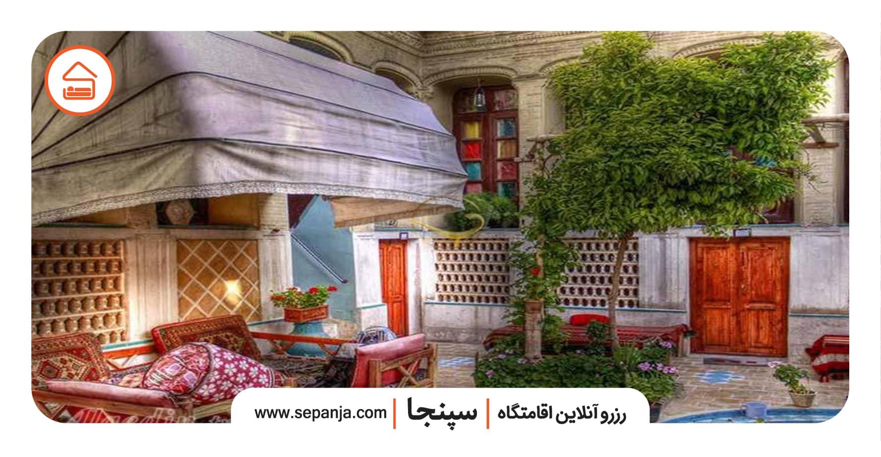 نمایی از خانه پرهامی شیراز