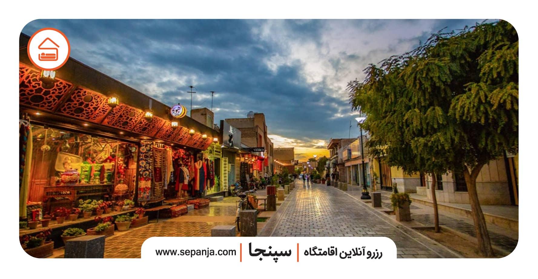 خیابان و محله جلفا در شهر اصفهان