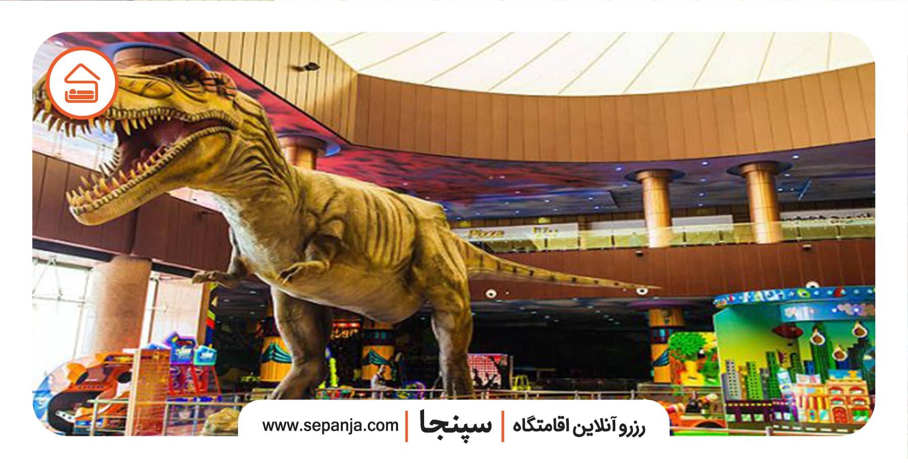 بزرگترین شهربازی سرپوشیده در شیراز
