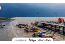 تصویر از بندر ترکمن، یکی از شهرهای تماشایی گلستان