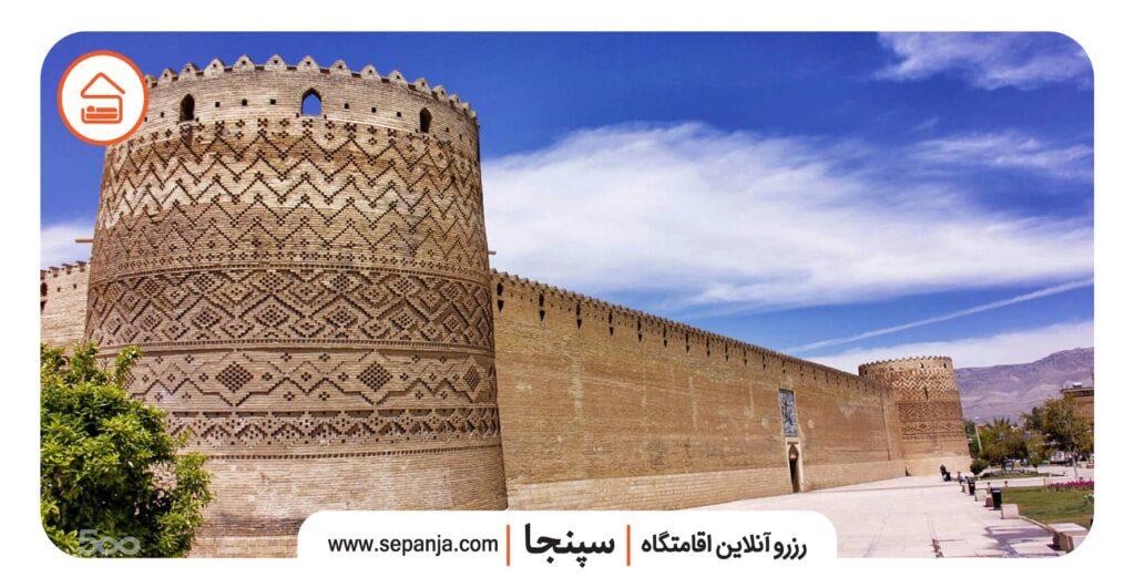 نمایی از ارگ کریمخان شیراز