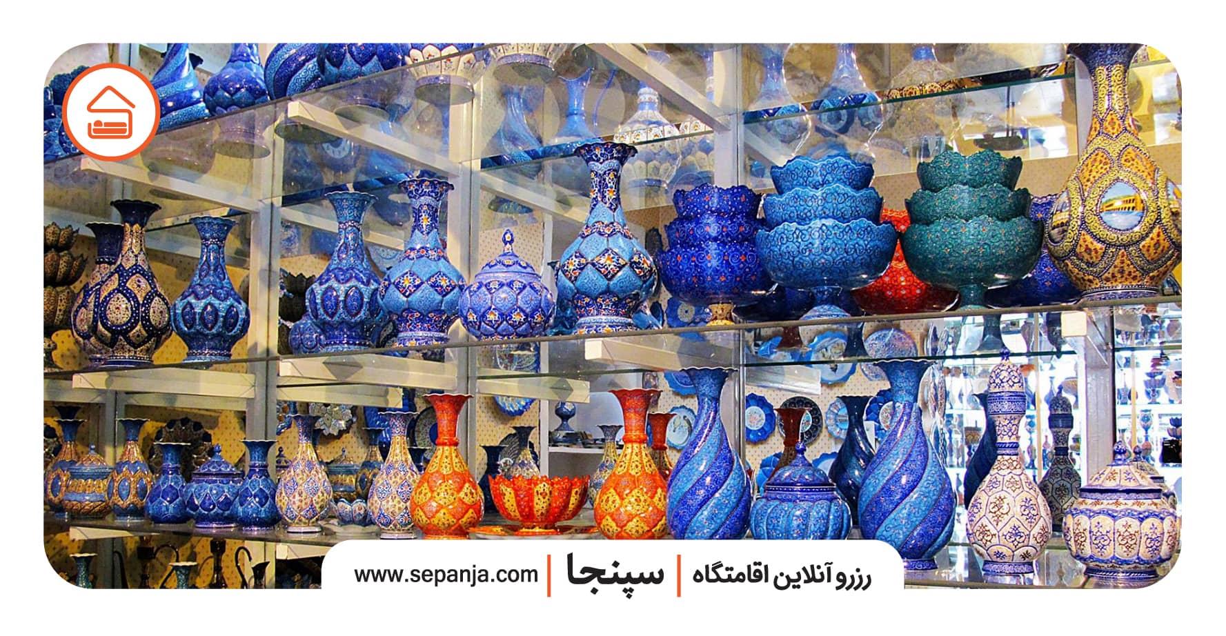 نمایی از صنایع دستی شیراز