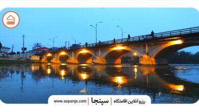 تصویر از پل چشمه کیله تنکابن، اثری باقی مانده از ساخته های دوران پهلوی