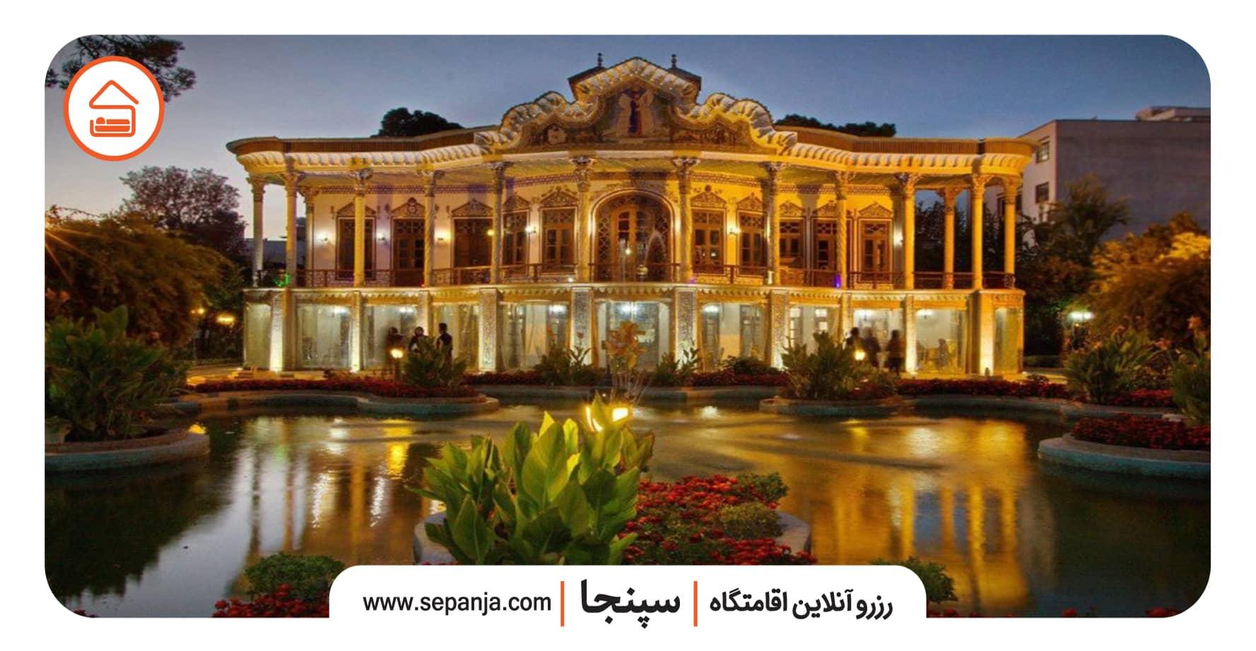 عمارت شاپوری از بهترین جاهای دیدنی شیراز