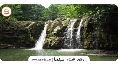 تصویر از آبشار سنگ بن چشمه، بازدید از منطقه ای سحرانگیز در تنکابن از دست ندهید!