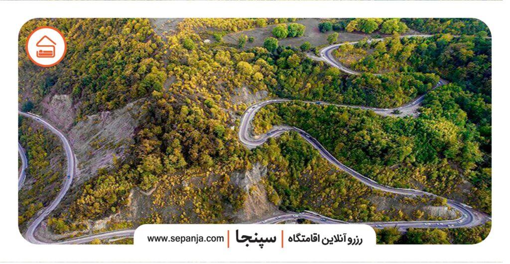 نمایی از منطقه گردشگری توسکستان