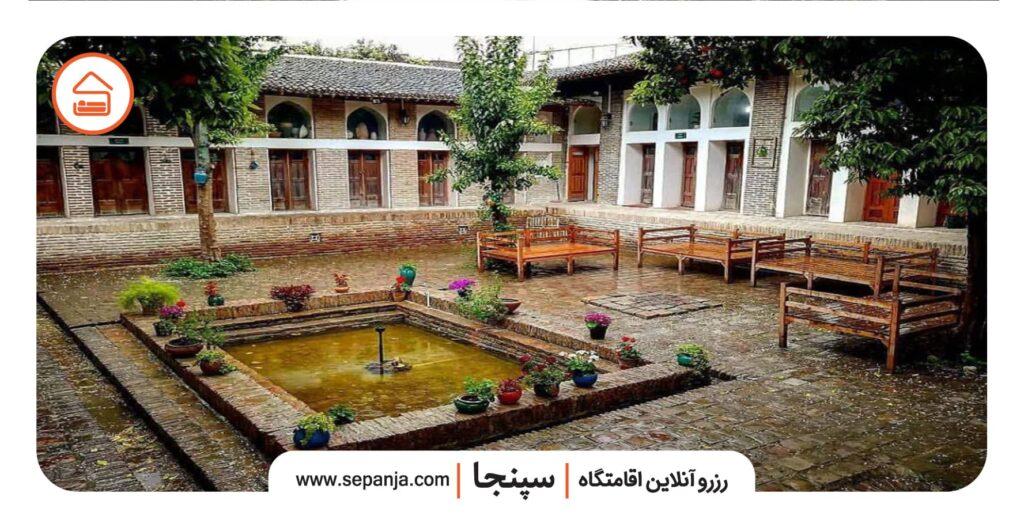 نمایی از خانه امیر لطفی خان گرگان