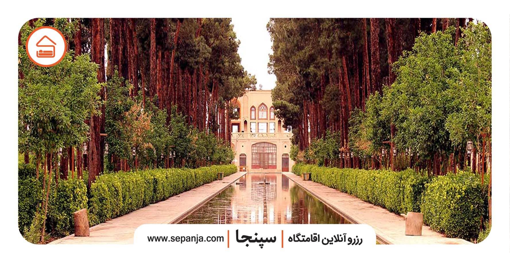 راهنما سفر به یزد و بازدید از باغ دولت آباد