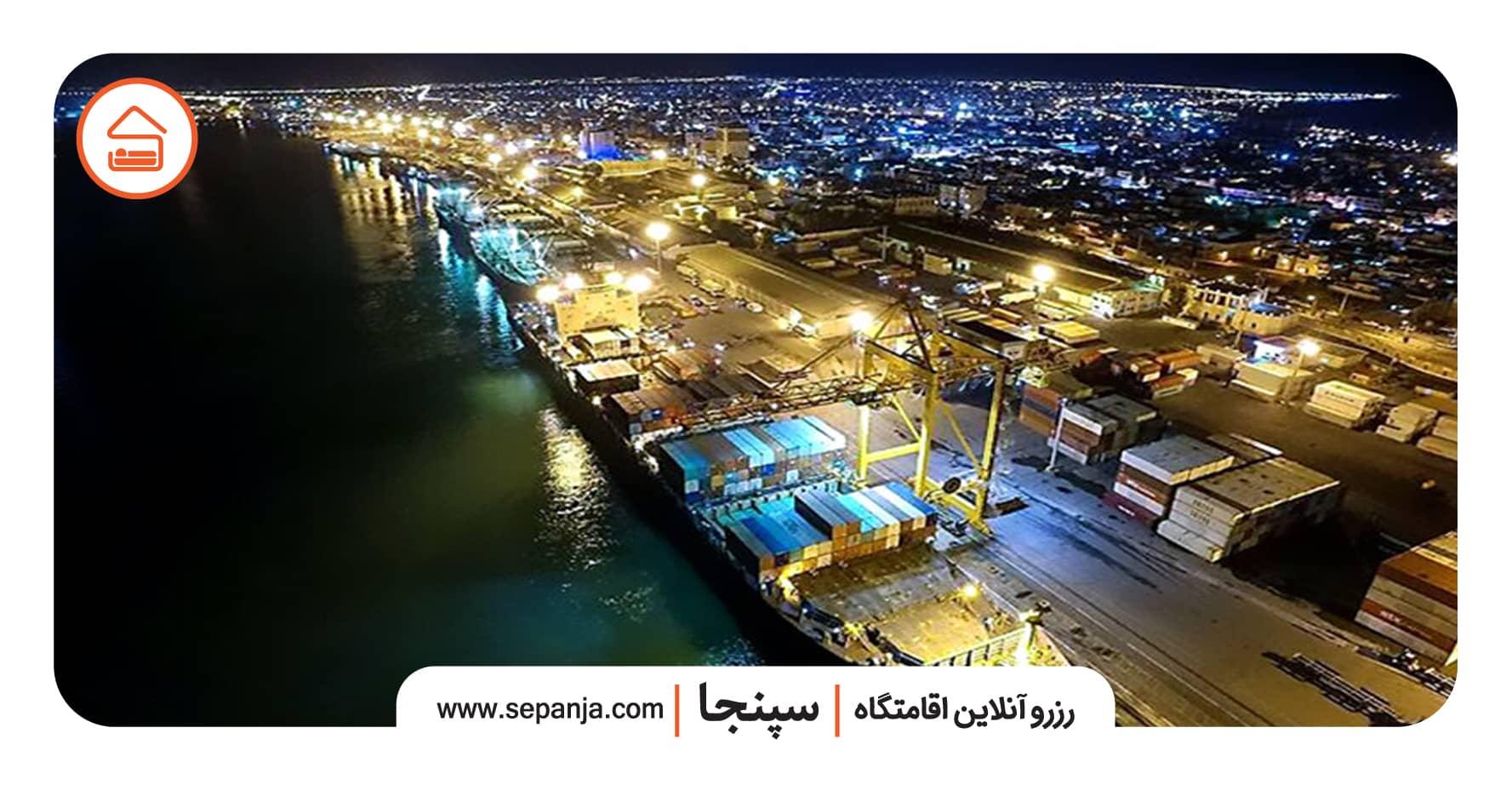 نمایی از شهر در سفر به بوشهر