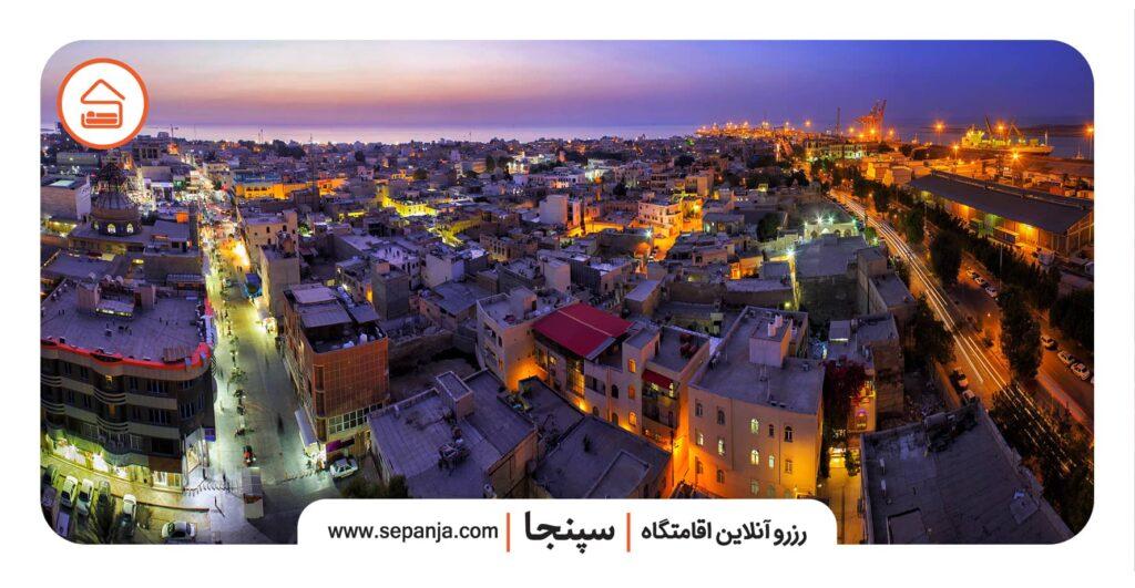 نمایی از شهر و راهنمای سفر به بوشهر