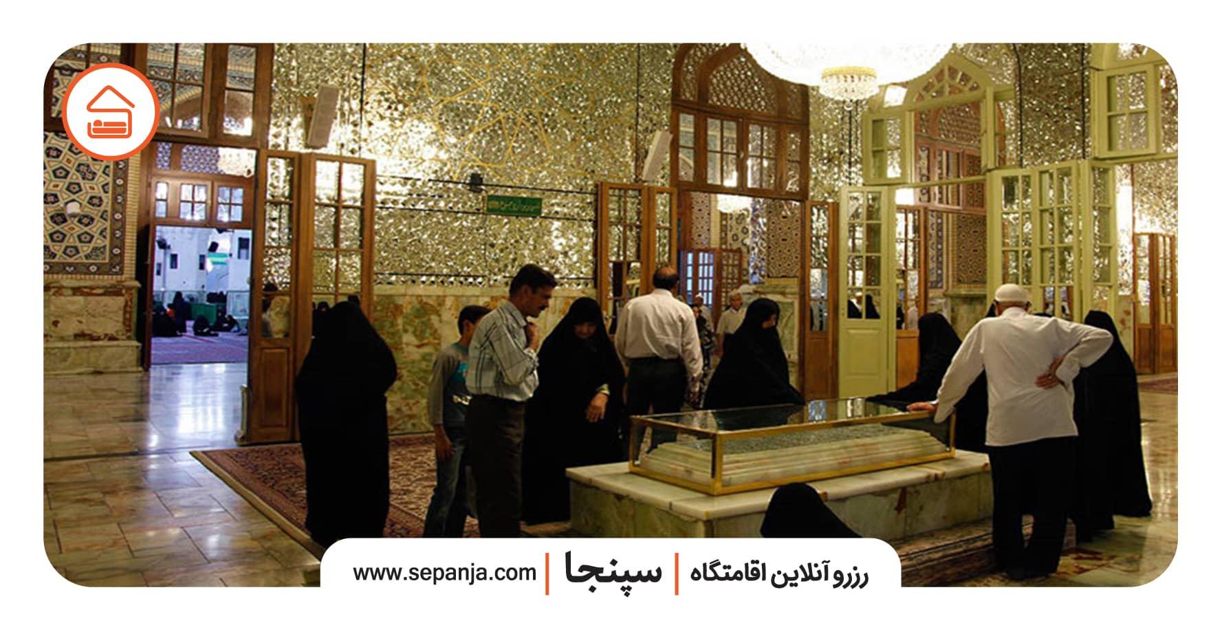 مقبره بزرگان در حرم امام رضا