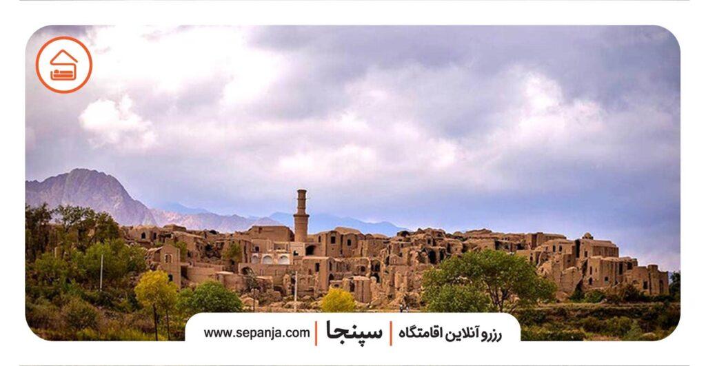 نمایی از روستای خرانق یزد