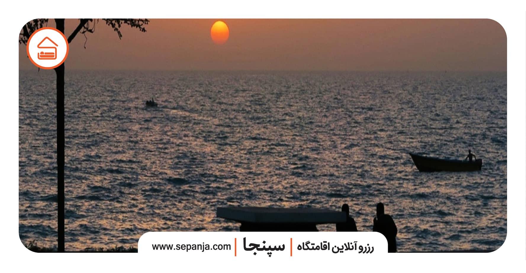 نمایی از ساحل در راهنمای سفر به بوشهر