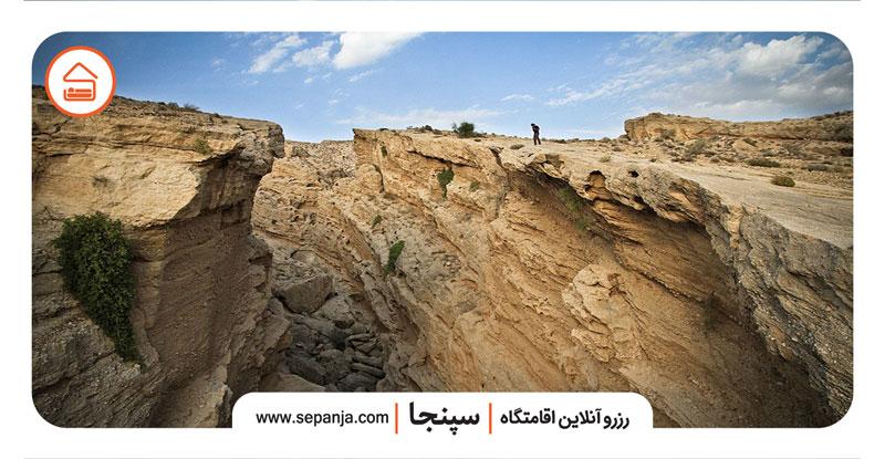 نمایی از بندر سیراف از جاهای دیدنی بوشهر