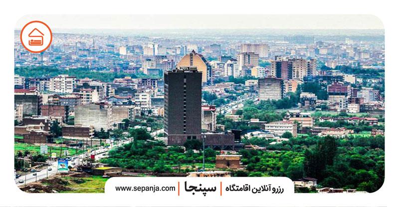 نمایی از شهر ارومیه