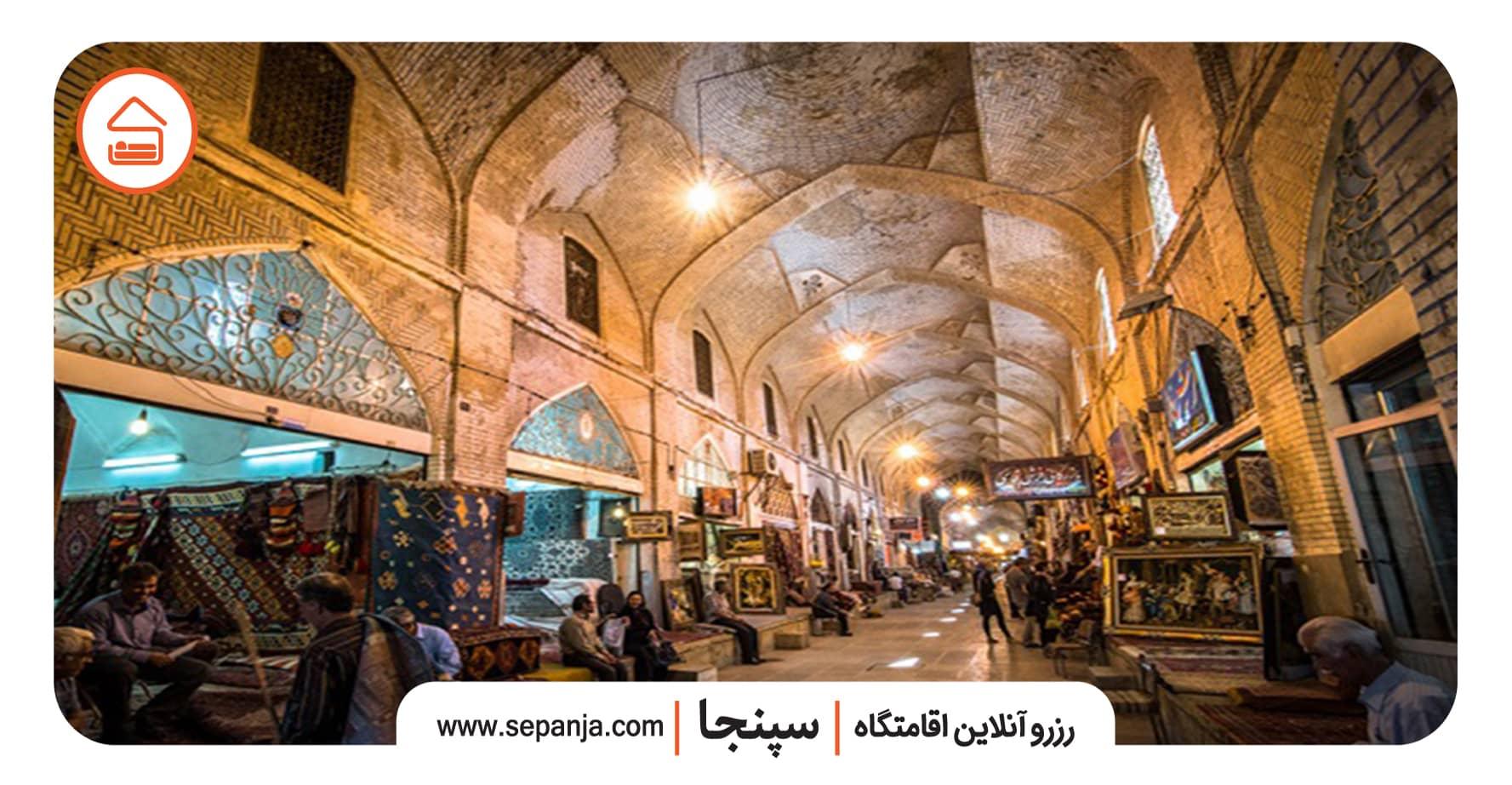 بازار وکیل شیراز و دیدنی هایش
