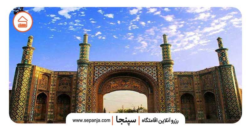 نمایی از جاهای دیدنی شهر قزوین