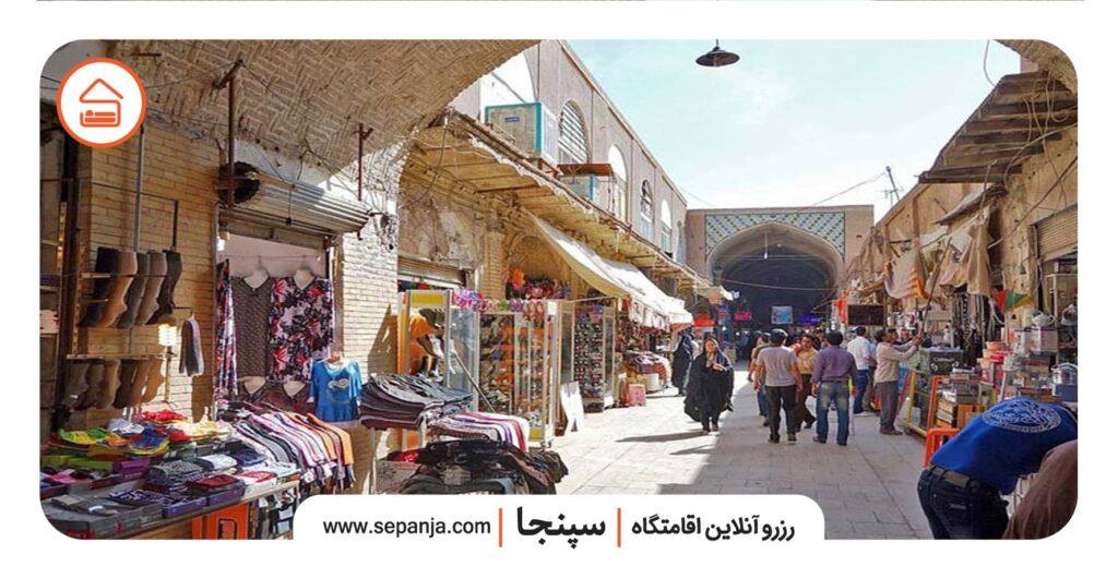 نمایی از بازار سنتی بوشهر