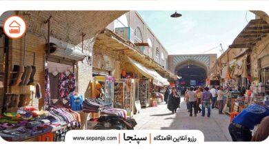 تصویر از بازار سنتی بوشهر، قطب اقتصادی ایران در زمان قاجار