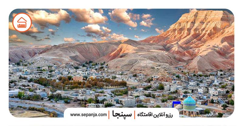 نمایی از کلات نادری مشهد