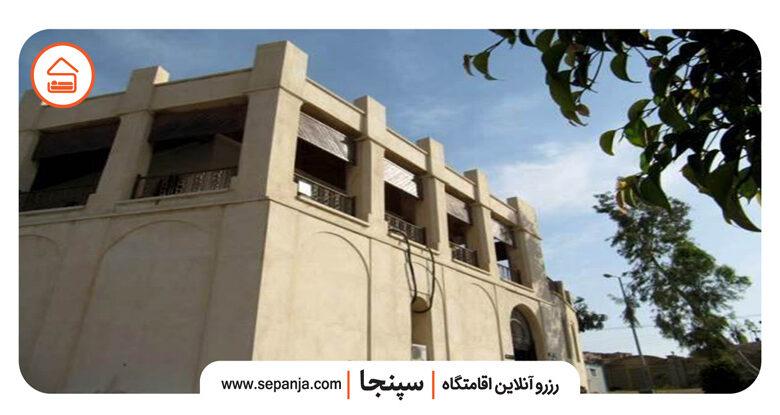 نمایی از عمارت کازرونی بوشهر