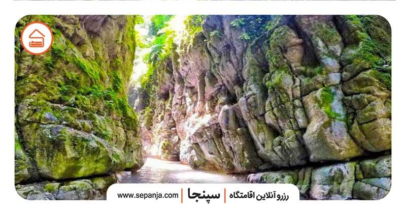 نمایی از طبیعت شهر نوشهر