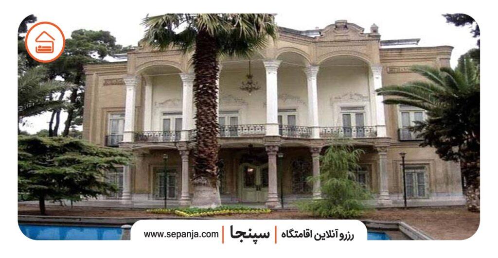 نمایی از باغ ایلخانی شیراز