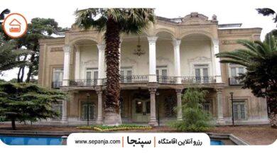 تصویر از باغ ایلخانی شیراز، عمارت قدیمی دوره قاجار