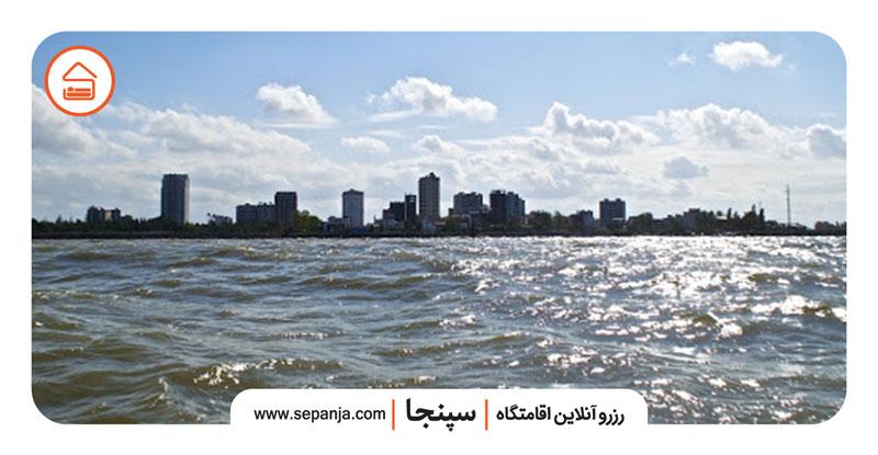 بازدید از شهر بابلسر و دریای آن