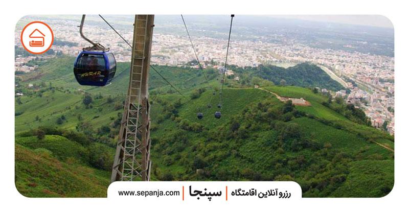 نمایی از جاهای دیدنی شهر لاهیجان