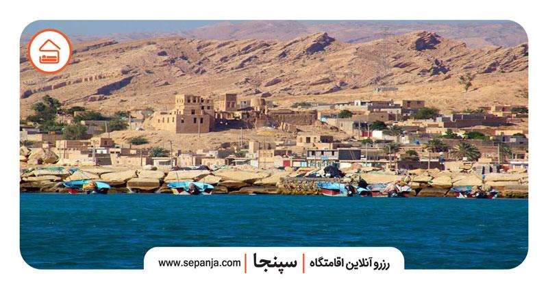 نمایی از بندر سیراف از بهترین جاهای دیدنی بوشهر
