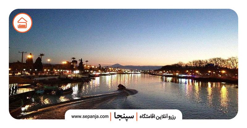 نمایی از شهر زیبای بابلسر