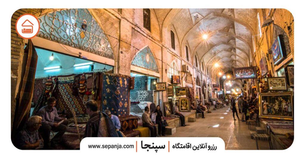 نمایی از بازار وکیل شیراز